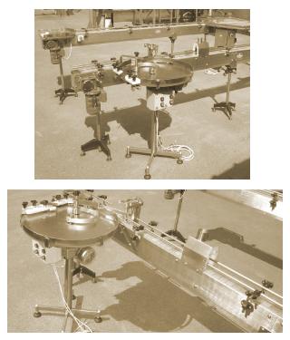 Конвейер фармацевтический для перемещения посуды(флаконов)