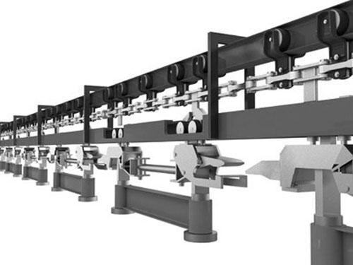 Подвесной толкающий конвейер - ПТЦ, УПТК
