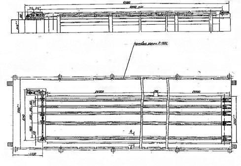 Транспортеры цепные поперечные ТСП- 4, ТСП4-30, ТСП2-4