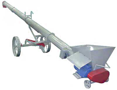 Передвижной винтовой конвейер У9-УКВ-1